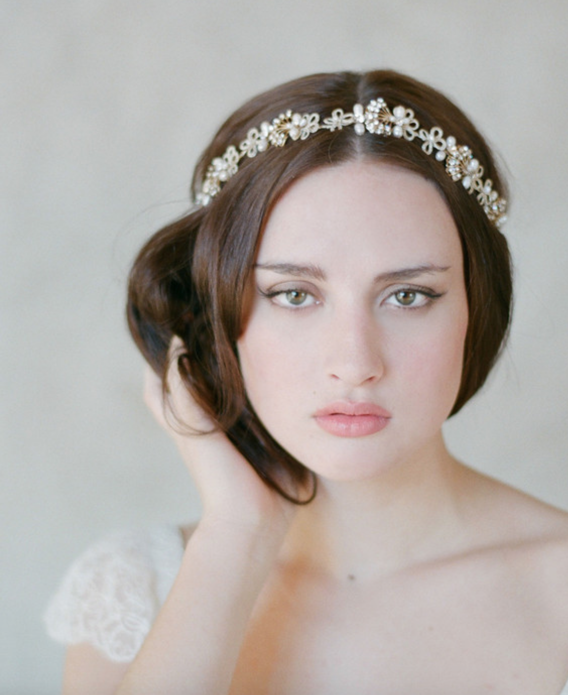 allure hair and makeup :: wedding hair accessories